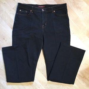 Like New David Kahn Boot Cut Jeans. 12